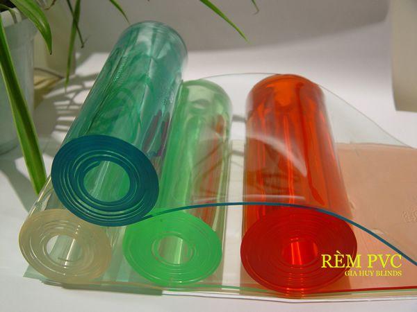 Một số màu sắc cơ bản của mẫu rèm nhựa PVC tiêu chuẩn